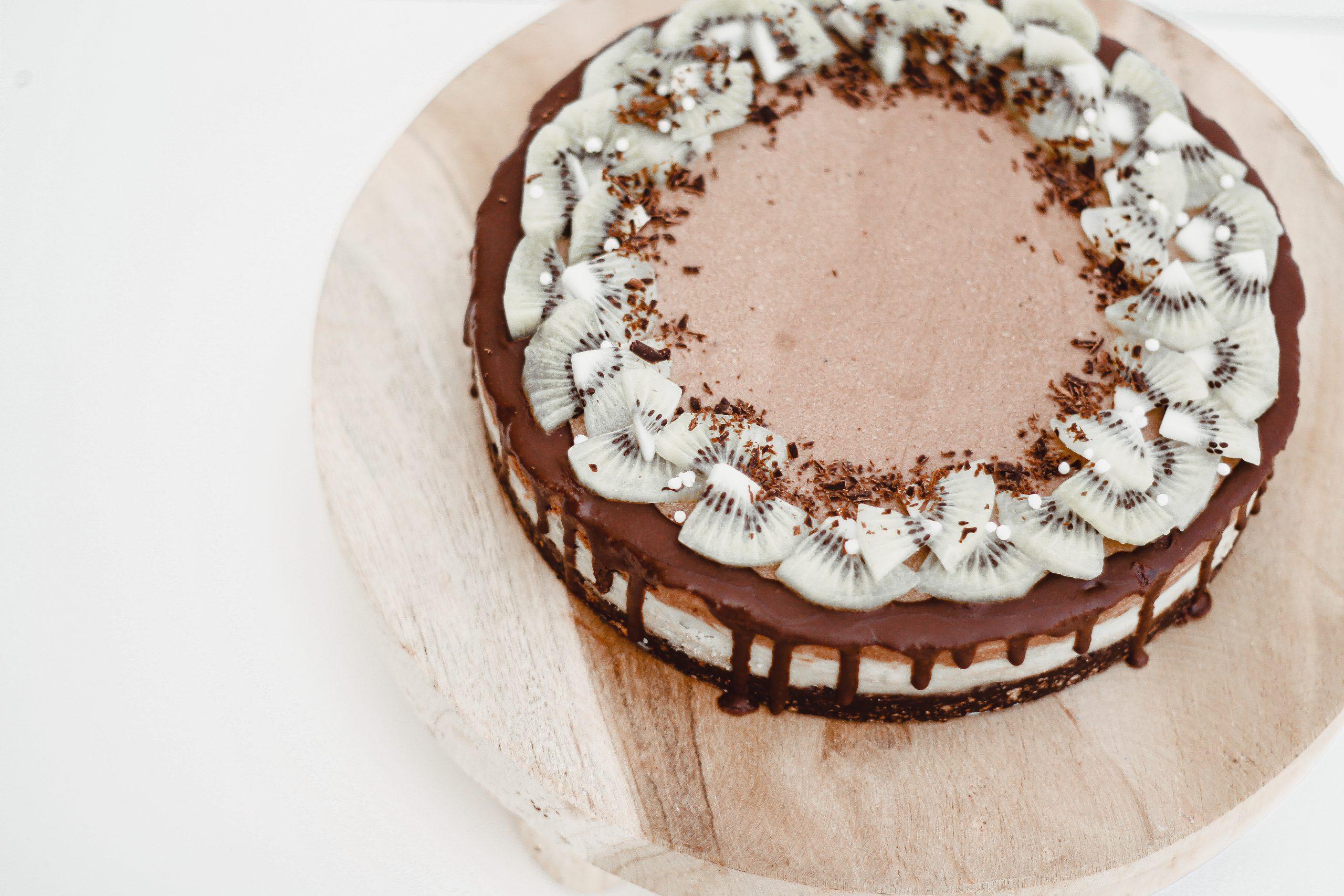 Сурова торта с матча и шоколад 6