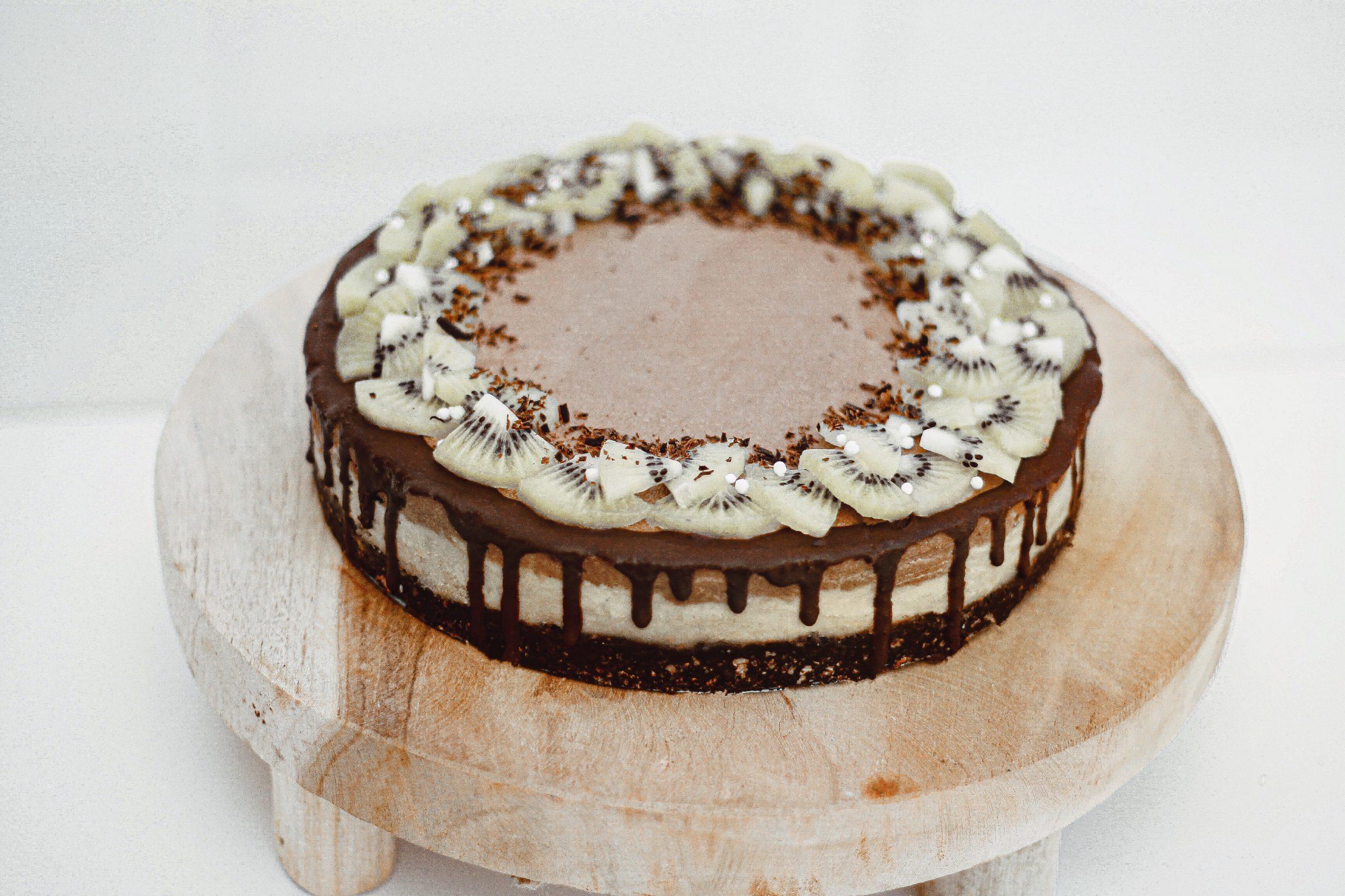 Сурова торта с матча и шоколад 2