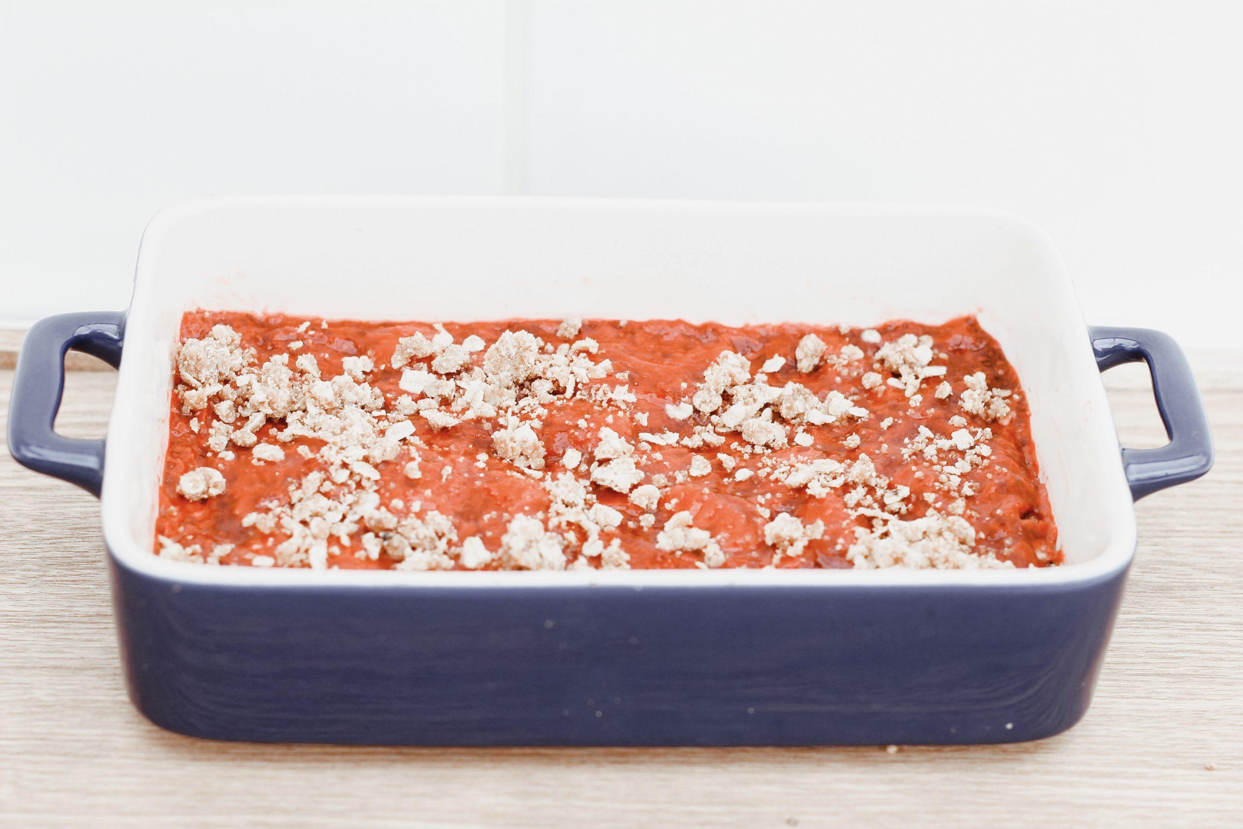 Овесени барчета с ягоди 5