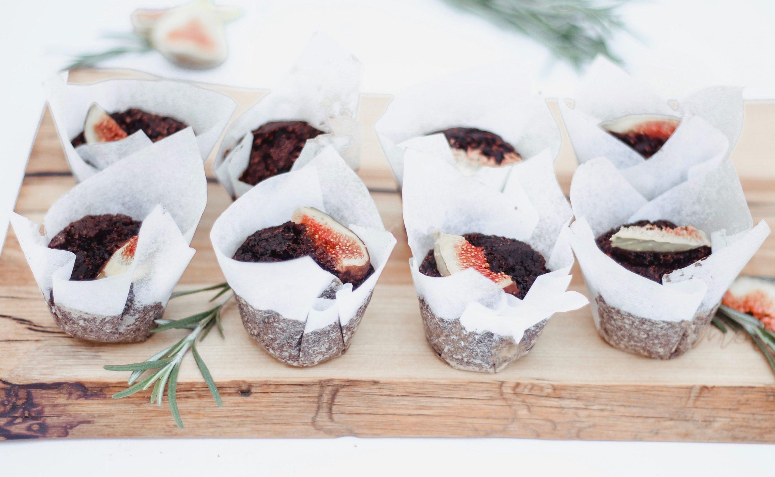 Веган шоколадови мъфини със смокини 1