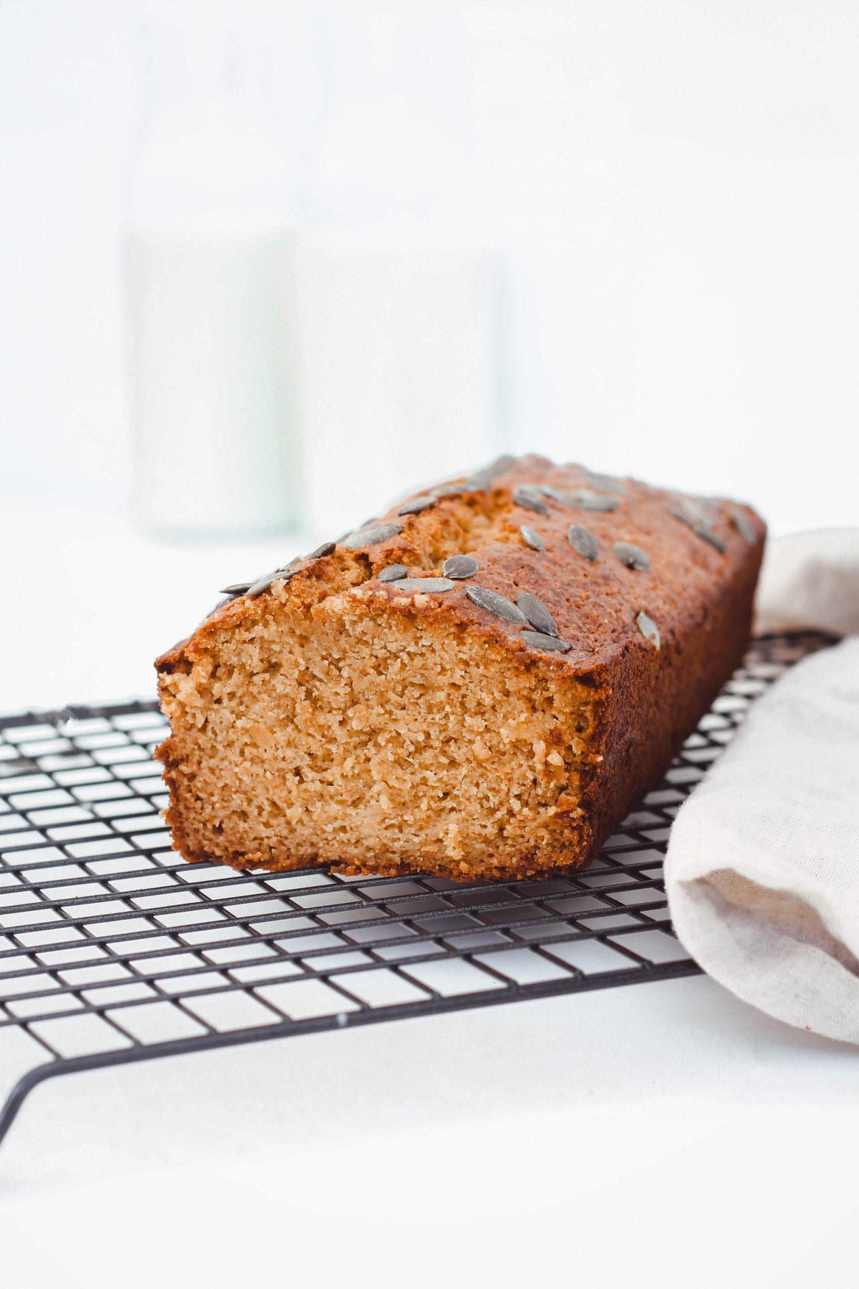 Здравословен тиквен хляб 4