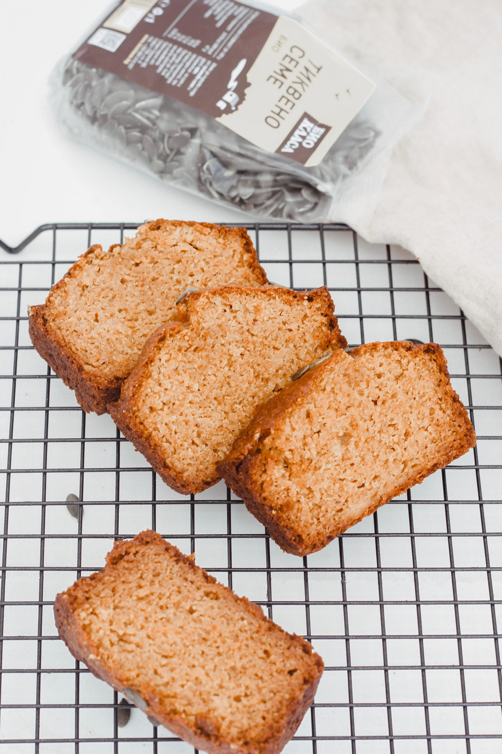 Здравословен тиквен хляб 5