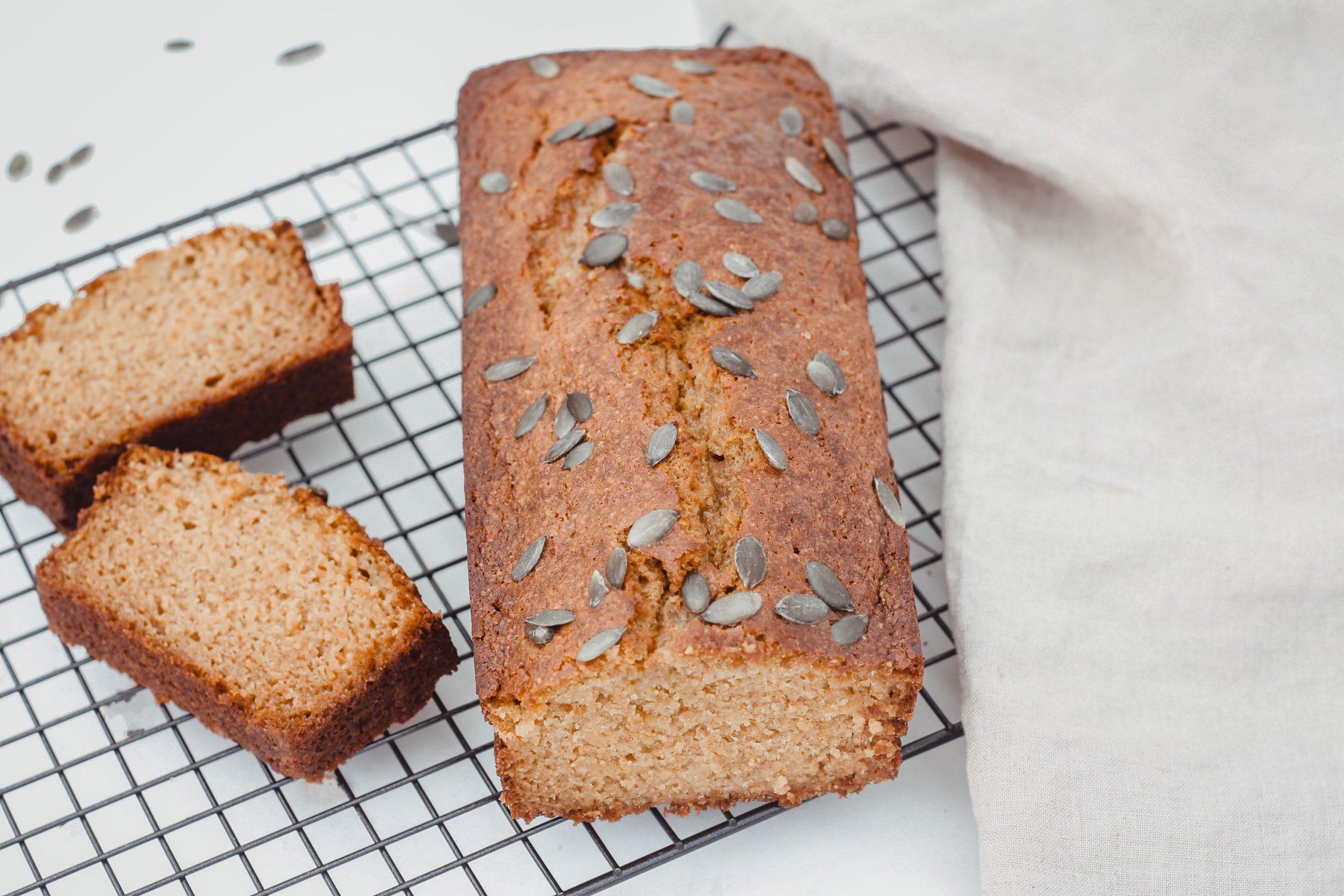 Здравословен тиквен хляб 6