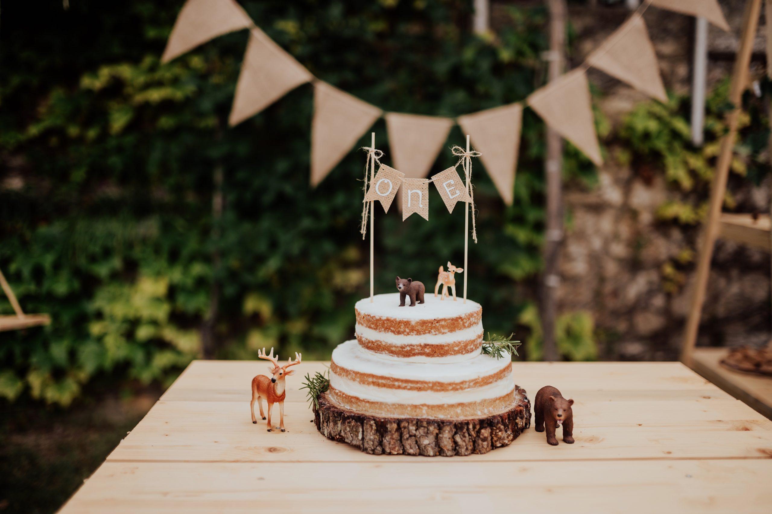 Здравословна торта за рожден ден 2